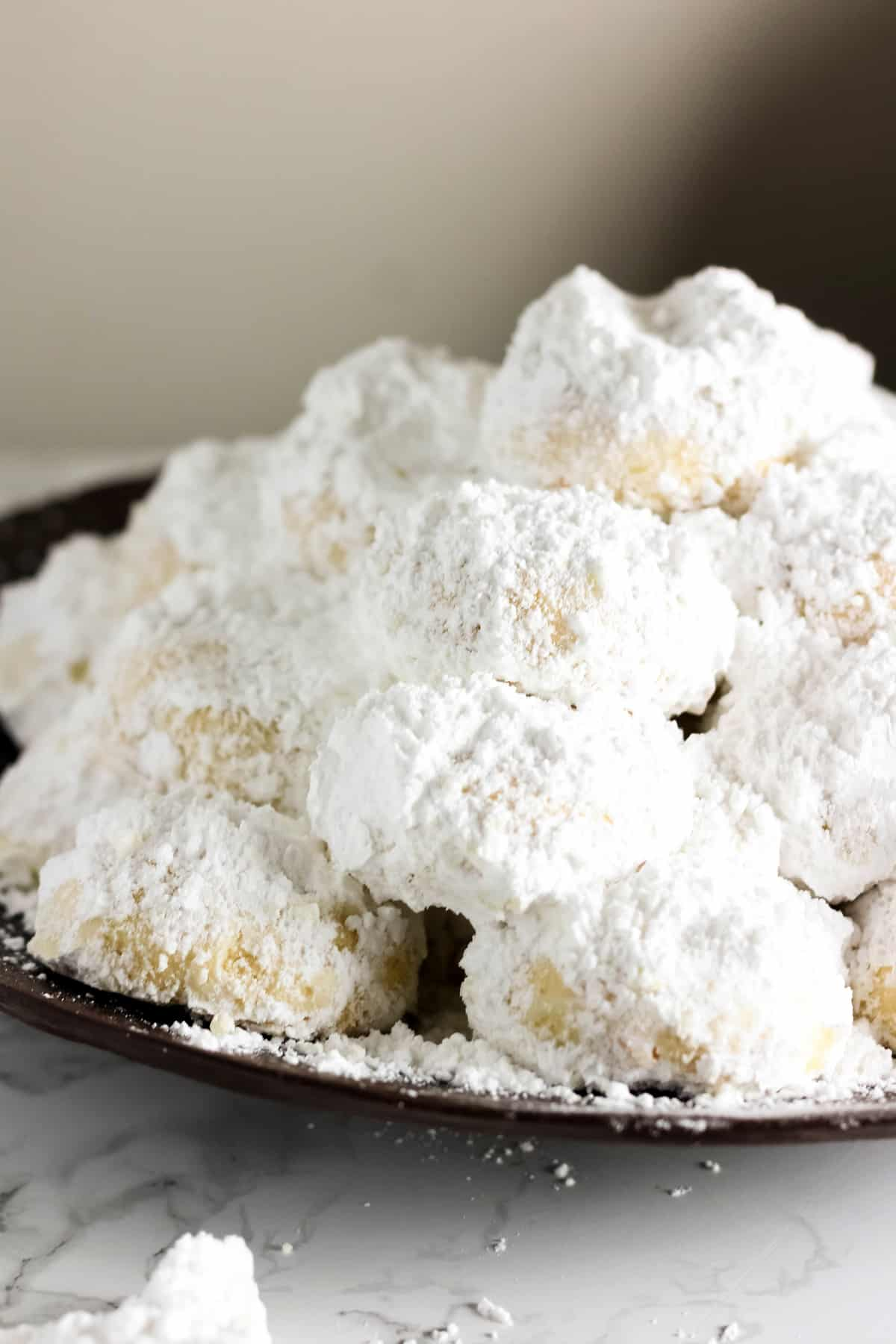 Kourabiedes Greek Christmas Cookies Baked Ambrosia