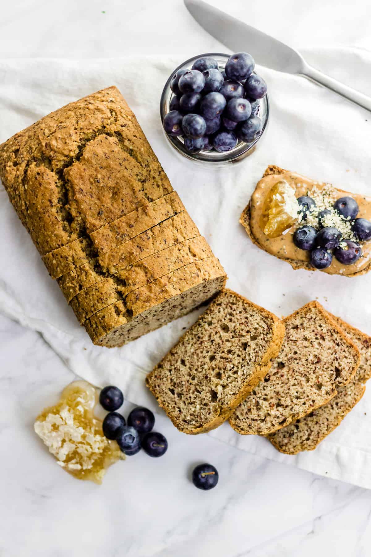 Paleo Sandwich Bread - Baked Ambrosia